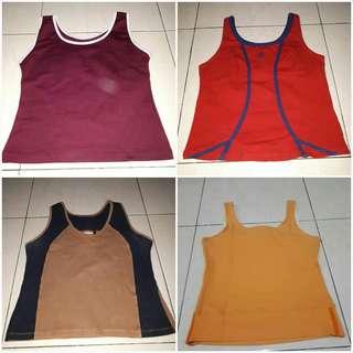 Baju senam @ ( merah cabe sold )