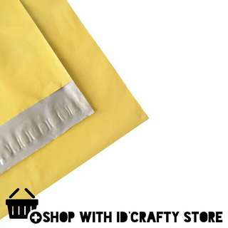 inStock   20s/50s A4+ Yellow Gold Poly Mailers (25cmx32cm)