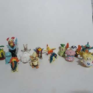 Pokemon Tomy Figures Bundle