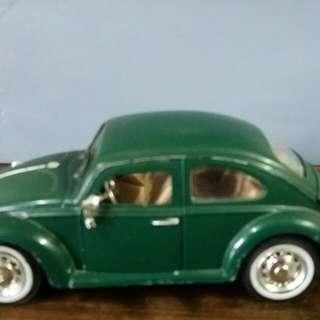 福士甲蟲車合金模型車