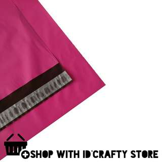 inStock   20s/50s A4+ Pink Poly Mailers (25cmx32cm)