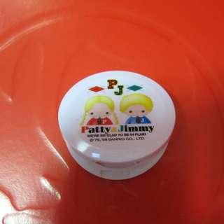 Sanrio Patty&Jimmy 眼部化妝部鏡盒連掃 1998年