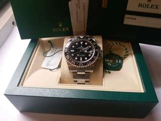 勞力士Rolex 116710LN GMT II 98新亂碼888special dial