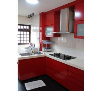 3 mins to MRT - Renovated 2+1 For RENT (BEDOK RESERVOIR)