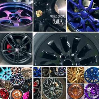 RIMS COLOUR TO CHOOSE FROM😍🚗💥