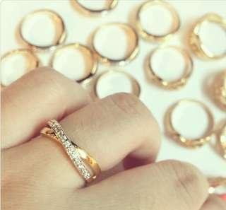 Pretty ladies' Infinity ring
