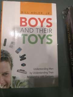 Boys and their toys by bill adler, jr.