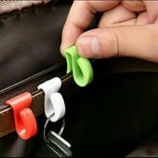 key clip holder tas untuk klip kunci, uang, karcis,kartu