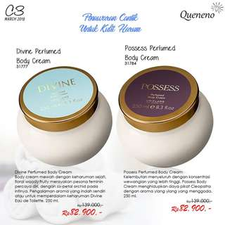 Divine & Possess Perfumed Body Cream - Oriflame