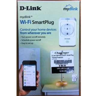 D-Link Wifi Smart Plug (Model: DSP-W215)