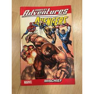 "Marvel Avengers comic book ""Mischief"""