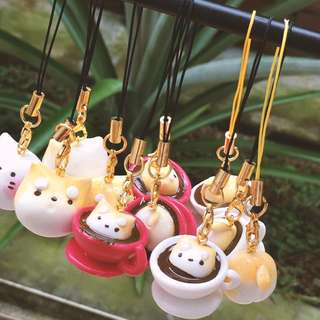 cute puppy keychain
