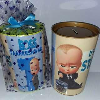 Customised Boss Baby Savings Bank