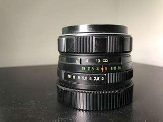 Helios 58mm f2