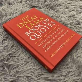 [NEW] Dalai Lama - Book of Quotes (Hardcover)