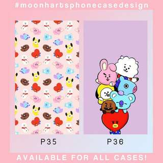 Custom Phone Case BTS BT21 (phonecasebymermaird)