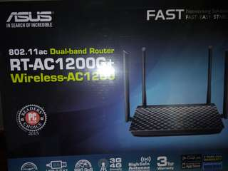 New ASUS RT-AC1200G+ Dual-band Router