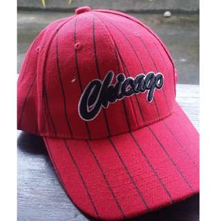 Red Chicago Bulls Hat