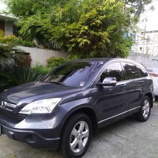 Honda CRV 2007  4x2 AUtomatic Color: Gray Plate ending: 4 Mileage: 105,000 Note: No accident and casa maintained