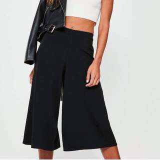 Misguided Culottes size 6