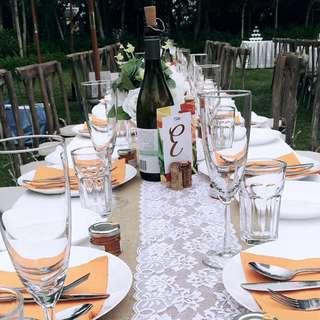 婚後物資 戶外婚禮 酒塞 麻布 花 酒