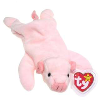 TY Beanie Baby - SQUEALER the Pig