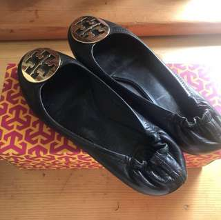 Tory Burch flat shoes (size 38,平賣$380)