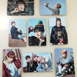 BTS You Never Walk Alone YNWA Photocards