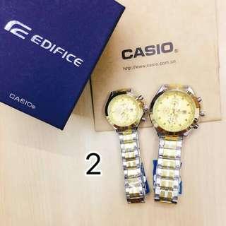 Buy1 take1 replica casio edifice couple watch
