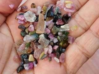 Tourmaline Loose Tumble Crystal 100gm