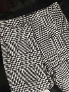 Forever21 Houndstooth High Waist Pants