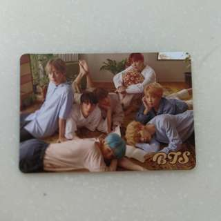BTS Love Yourself Yes Card Photocard