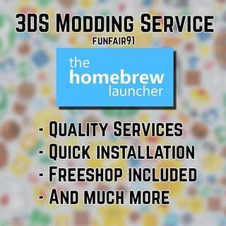 2DS/3DS Modding Services
