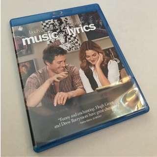 !!正版!!Blu-ray 藍光 - 日版 Music and Lyric 冧歌有情人