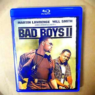 Bad Boys II Bluray (imported)(excellent condition like new) Region A