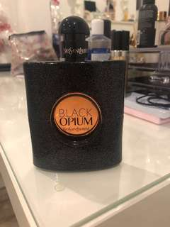 Black opium GENUINE 90ml Still full