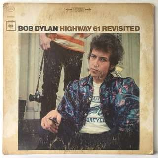 Bob Dylan ‎– Highway 61 Revisited (1967 US Pressing - Vinyl is Very Good)