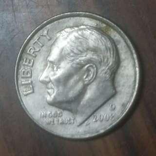 2008年十美分硬幣