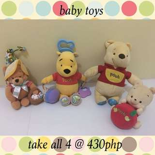 winnie the pooh baby toys