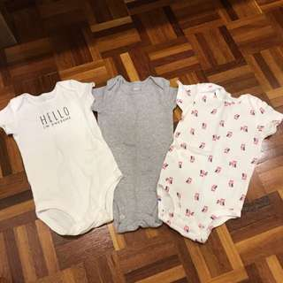 CARTERS 3pcs 6mths