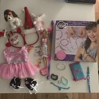 Girl toys bundle clearance