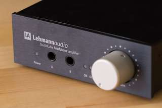 Lehmannaudio Studio Cude headphone amplifier SET