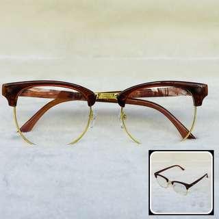 Replaceable Lense Eyeglasses