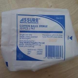 Sterile Cotton Balls