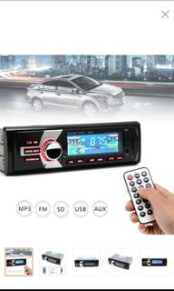 In-Dash FM Car Input Receiver Stereo 50W x 4 LCD Display MP3 WMA Radio Player