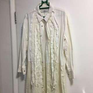 女裝麻棉恤衫裙