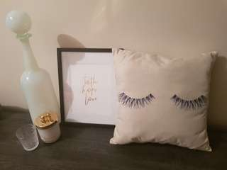 "Decor Cushions ""Lashes For Days"" Collection"