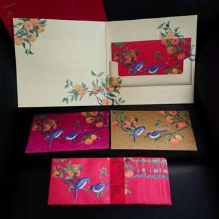 RESERVED♣BN Private Bank Silky Finishing Red Packets