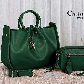 Christian Dior Handbag Set Premium (Green)