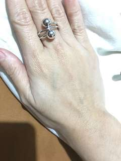NEW! Cincin emas putih (imitasi)